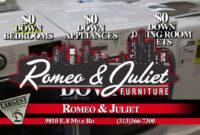 Detroit'S Largest Furniture Store - Romeo & Juliet Furniture regarding Romeo And Juliet Furniture Store