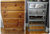 Diy Mirrored Chest Of Drawers Using Acrylic Mirrors | Diy intended for Mirrored Furniture For Less