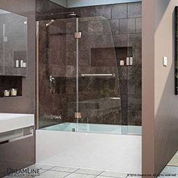 Dreamline Shdr-3448580-Rt Aqua Ultra 57 To 60 In. W X 30 In intended for Mobile Home Bathroom Ideas