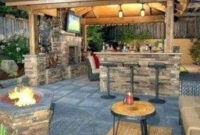 ✓60 Amazing Small Diy Outdoor Patio Ideas On A Budget 33 within Backyard Kitchen Ideas