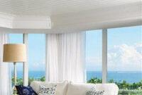 Elegant Beachy Living Room   Living Rooms   Luxe Source inside Beach Color Palette Living Room