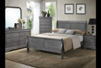 Gray Louis Phillippe Bedroom From Seaboard Bedding And Furniture in Seaboard Bedding And Furniture