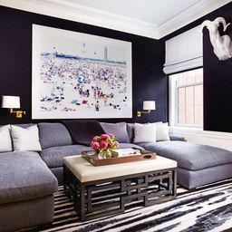 Historic Nyc Apartment Gets A Glamorous Update From Designer with Architectural Digest Living Room