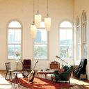 Home Office Design Ideas, Pictures, Remodels And Decor in Art Deco Living Room