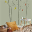 Homebase Matt Paint - Pale Olive 2.5L with regard to Olive Green Living Room