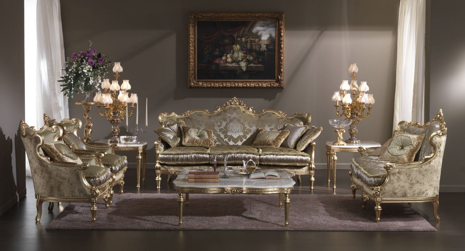 Ideas For Classic Furniture (With Images) | Antique Living for Classic Living Room Furniture