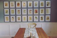 Instant Wall Art - Botanical Prints: 45 Ready-To-Frame in Kitchen Artwork Ideas