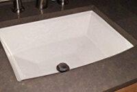 Kohler K-2355-0 Archer Undercounter Bathroom Sink, White inside Replace Bathroom Vanity Sink