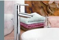 Lavatory Faucet, Grail™ Series, Centerset, Chrome Finish for Chrome Single Handle Bathroom Faucet