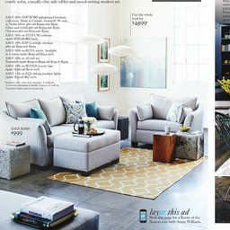 Light Grey Couches | Chair And A Half, Quality Living Room in 2 Couches In Living Room