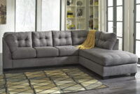 Maier - Charcoal 2-Piece Sectional W/ Sleeper Sofa & Chaise throughout Ashley Furniture 2 Piece Sectional