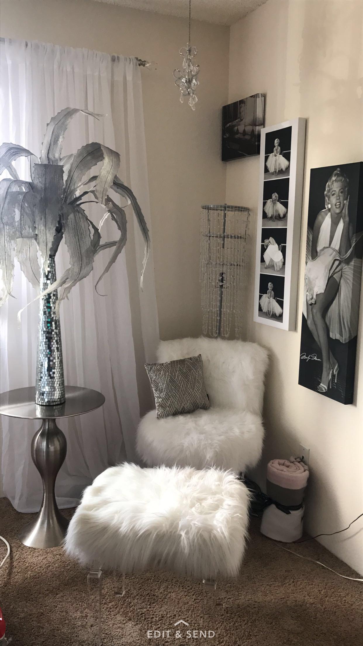 Marilyn Monroe Glamour Bedroom | Bedroom Decor, Home Decor within Marilyn Monroe Bedroom Furniture