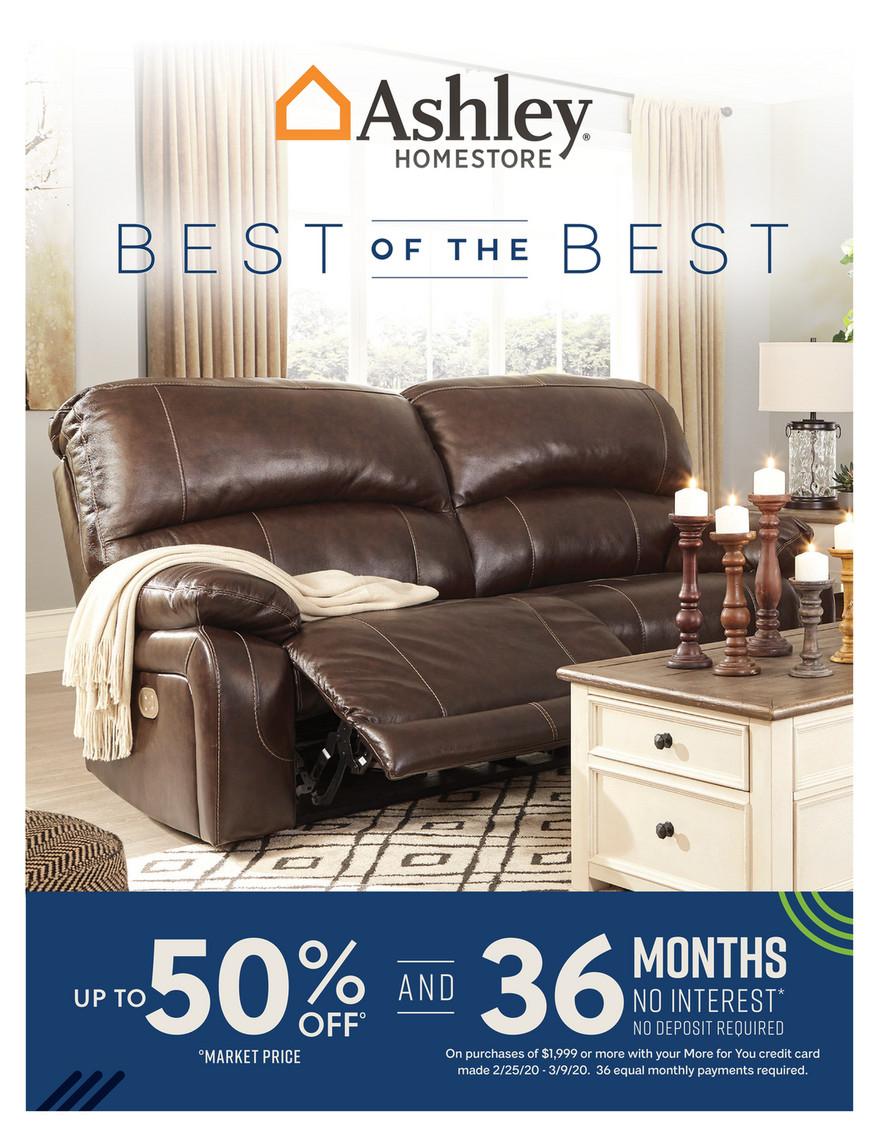 Morris Furniture Company - Ashley Digital Catalog - Page 1 in Morris Furniture Credit Card