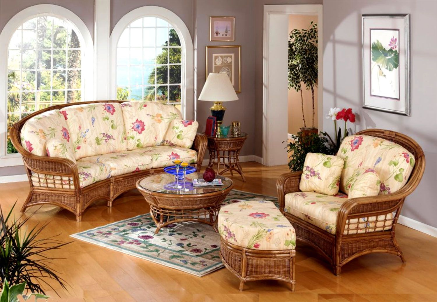 Mountain View Rattan Wicker Coffee Table With Glass From for Mountain View Furniture Stores