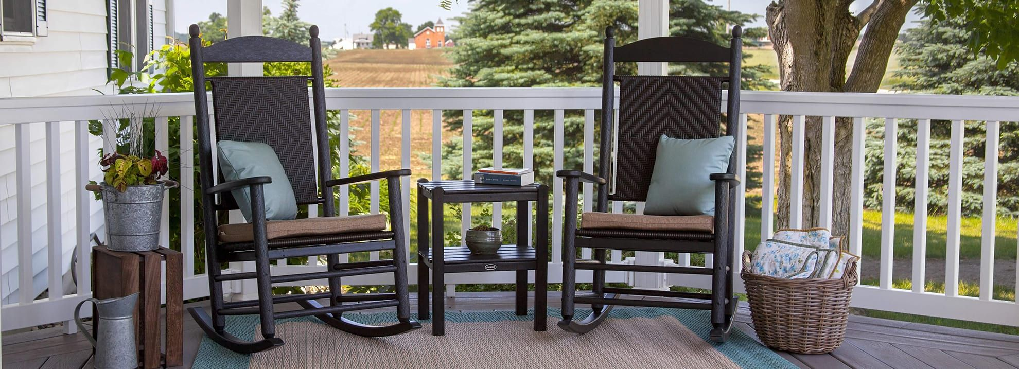 Outdoor Front Porch Furniture | Porch Table, Chairs, Porch in Front Porch Patio Furniture