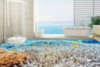 Peopleart - Brand Set Bed Top Luxury   Floor Murals, 3D regarding Under The Sea Bathroom