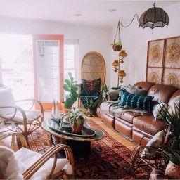 Perfectly Bohemian Living Room Design Ideas 36 | Living Room regarding Boho Chic Living Room