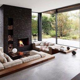 Pinchristopher O'Donnell On House Plans In 2020 | Sunken in Sunken Living Room Remodel
