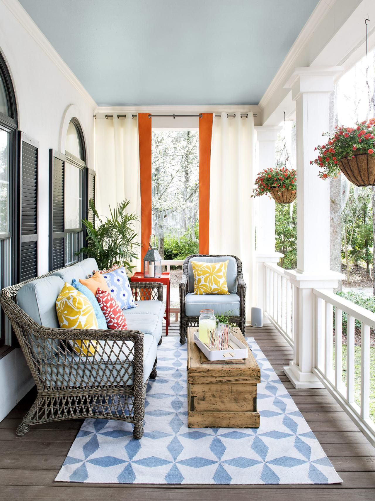 Porch Design And Decorating Ideas (With Images)   Porch regarding Outdoor Front Porch Furniture
