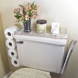 Quick And Easy Bathroom Storage And Organization Tips regarding Small White Bathroom Cabinet