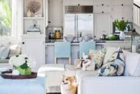 Recreate This Impeccable Hamptons Style Home Featured In inside Beach Decorating Ideas For Living Room