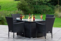 Sales Outdoor Heating & Cooling - Patio, Lawn & Garden with Patio Furniture With Fire Pit Table