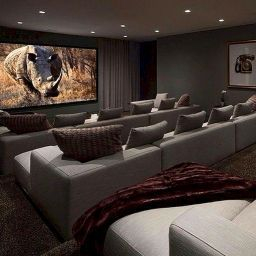 The Most Effective Method To Choose Decor Home Cinema | Home in Basement Living Room Ideas