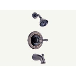 Tub And Shower Faucet Trim, Leland™ Bath Series, Brass Body regarding Delta Bathroom Shower Faucets
