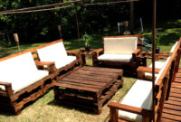 Unique And Awesome Pallet Garden Furniture (With Images with regard to Patio Furniture Out Of Pallets