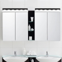 Waterproof Acrylic Vanity Light 9W-16W Led Neutral Light with 28 Inch Bathroom Vanity