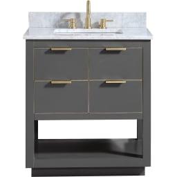 Wooden Bathroom Vanities | Goedeker'S with 16 Depth Bathroom Vanity