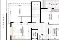 27X36 Ft Best And Latest 2 Bhk House Plan (With Images throughout Floor Plan For Living Room Design