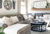 37 Amazing Simple Farmhouse Home Decor Ideas | Modern with Simple Interior Living Room Design