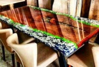 40 Amazing Resin Wood Table Ideas For Your Home Furnitures with Bend Furniture And Design Bend Or