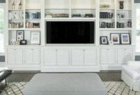 46 Amazing Bookshelves Decorating Ideas For Living Room with Living Room Cabinet Design Pictures