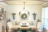 50 Lasting Farmhouse Dining Room Table Decor Ideas intended for Living Room Interior Design Ideas With Dining Table