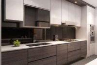 50 Stunning Modern Kitchen Design Ideas | Modern Kitchen within Efficiency Apartment Kitchen Design