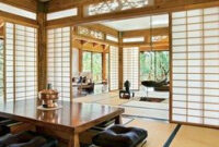 A Residence On Arizona'S Mogollon Rim Features Classic with Japanese Bedroom Design For Small Space