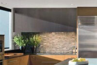 Backsplash| Contemporary > Kitchens | Luxe Source (With with Schone Kitchen Design