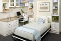 Best Diy Murphy Bed Ideas That Suitable For Small Space 26 in Ideas To Design A Small Bedroom