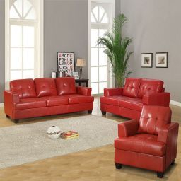 Brilliant Red Couch Living Room Design Ideas 06   Living with Leather Furniture Living Room Design Ideas