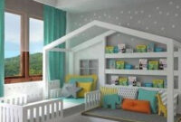 Easy Ways To Design And Decorate A Kids' Room (2 | Cool with regard to 2 Bedroom House Interior Design