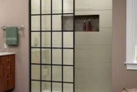 "French Linea Frameless Shower Door 34"" X 72"" Open Entry pertaining to Linea Design Furniture"