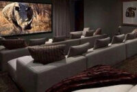 Home Cinema164 #Movieroomdecor   Home Cinema Room, Home with Living Room With Home Theater Design