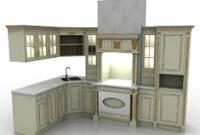 Kitchen N010411 - 3D Model (*.3Ds) For Interior 3D inside 3D Furniture Design Download