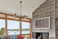 Leroy Street Studio Created This Modern Cape Cod Retreat pertaining to Cape Cod Living Room Design