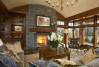 Lovely Living Room   Lake House Interior, Country Living with regard to Tuscan Interior Design Living Room