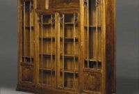 Modèle Junko' Glazed Walnut Cabinet Designedlouis for Wood Furniture Design Cupboard