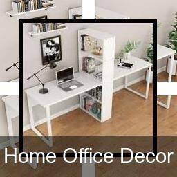 Office Interior Ideas   Motivational Office Decor   Den throughout Desk Living Room Design Ideas