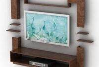 Tv Cabinet Rack Design Free 3D Model - .3Ds, .Gsm inside Furniture Design Of Tv Cabinet